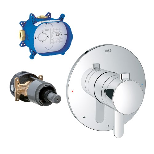 Grohe K19881-35026R-000 Grohflex Pressure Balance Trim with Rough-In ()