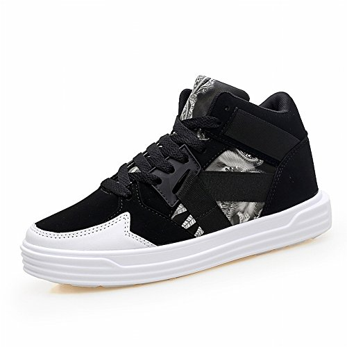 EUR High Help Street 5 Sports to Casual Couple Shoes Couples to Shoes Shoes white Big black Shoes High Help Yards 35 FUw5qIU