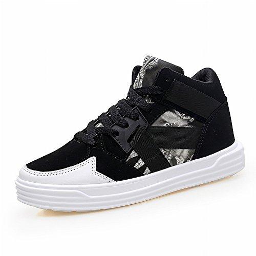 Chaussures Eur Haute Les Haut Grands 5 Couples De Aider Sport Occasionnelles 36 Chantiers Rue Blanc Pour Noir Couple qtrwxftT