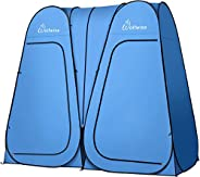WolfWise 6.6FT Portable Pop Up Shower Privacy Tent Spacious Dressing Changing Room for Toilet Camping Biking B