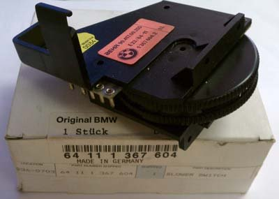 Oe BMW 7 Series E32 735i 733i Climate Control Blower Switch 64111367604