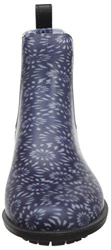 Sininen Voikukka Naisten Joules tummansininen Kumisaappaat Rockingham Geo tw7v8qHx
