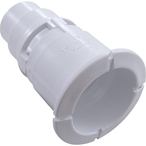 Waterway 215-1070 Poly Gunite Spa Jet Wall Fitting - White