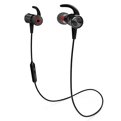Bluetooth Headphones, Wireless Earbuds Bluetooth 4.1 with microphone Sport Stereo Headset,IPX7 Waterproof earphones ,Magnetic Stereo Neckband Headset ,Premium Sound with Bass, Noise Cancelling
