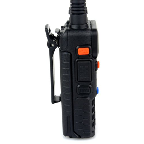 Retevis RT-5R 2 Way Radio 5W 128CH Dual Band UHF/VHF 400-520MHz/136-174MHZ FM Walkie Talkies (6 Pack) and Programming Cable by Retevis (Image #3)