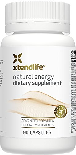 Natural Energy by Xtend-Life | Advanced Energy Formula With Pure New Zealand Bee Pollen To Enhance Natural Energy And Control Appetite (90 Capsules)