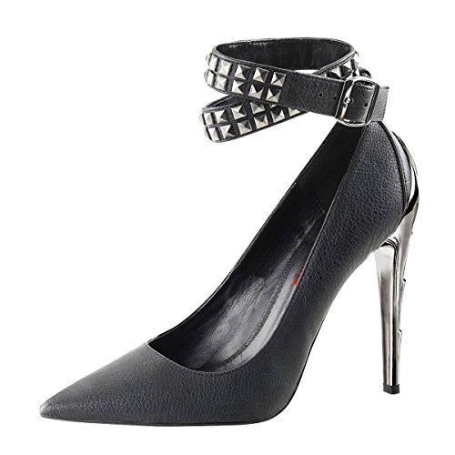 de Zapatos para Schwarz vestir Schwarz Material mujer Perfect de Sintético Heels 0qwESc5w