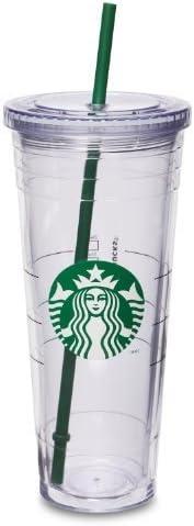 Starbucks Cold Cup, Venti 24 fl oz Size: Venti (24oz) PackageQuantity: 1 Model: (Home & Kitchen)