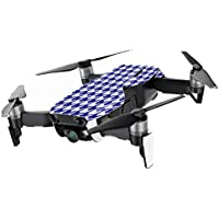 MightySkins Skin for DJI Mavic Air Drone - Blue Houndstooth | Min Coverage Protective, Durable, and Unique Vinyl Decal wrap cover | Easy To Apply, Remove, and Change Styles | Made in the USA