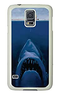 Samsung Galaxy S5 popular cover Cool Funny Shark PC White Custom Samsung Galaxy S5 Case Cover