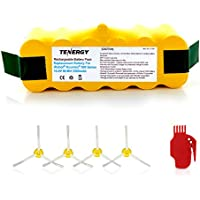 Tenergy 3500mAh Replacement Battery for iRobot Roomba R3...