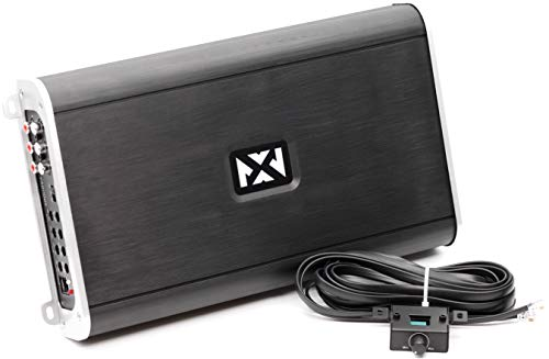 NVX VAD11005-1100W Full Range Class D 5-Channel Car/Marine/Powersports Amplifier with Bass Remote