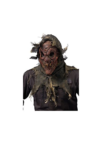 [Red Scarecrow Halloween Mask] (Scary Scarecrow)