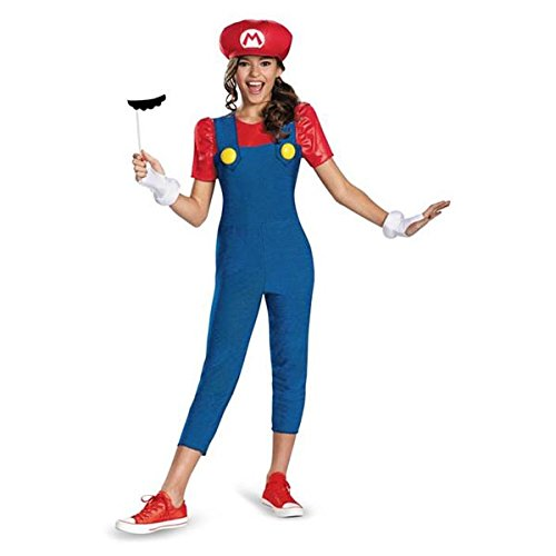 Disguise Nintendo Super Mario Brothers Mario Tween Costume, Medium/7-8 (Mario And Luigi Costumes Kids)