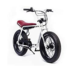 A new breed of transportation. The SUPER73 is the first electric motorbike of it's kind giving you the lifestyle and freedom of a motorcycle, with the ease and safety of a bicycle.