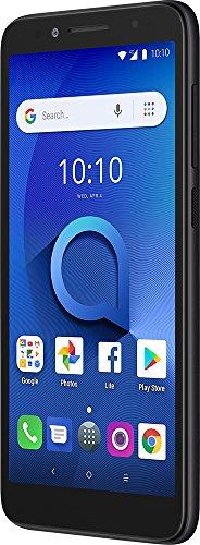 "Alcatel 1X Unlocked Smartphone (AT&T/T-Mobile) - 5.3"" 18:9 Display, Android Oreo (Go Edition), 8MP Rear Camera, 4G LTE - Dark Gray (U.S. Warranty)"