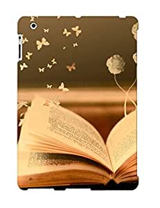 New Shockproof Protection Case Cover For Ipad 2/3/4/ Paper Butterflies Out Of A Book Case Cover