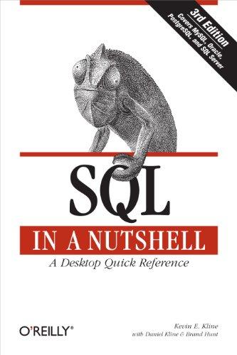 Download SQL in a Nutshell (In a Nutshell (O'Reilly)) Pdf