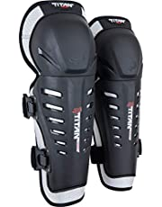 Fox Racing Titan Race Adult Knee/Shin Guard Off-Road Motorcycle Body Armor - Black