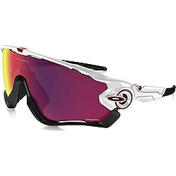 Oakley-Gafas de sol para hombre, diseño de Jawbreaker-Polished white Prizm road