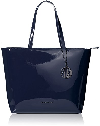 (A|X Armani Exchange Small Zip Shopping Bag, 37735)