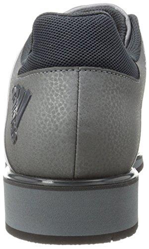 Chaussure De Formation De Poids Rotation Des Performances Adidas, Gris Métallique De Fer / Gris Foncé / Argent, 4 M Gris Nous