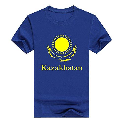 Funny Borat T-shirt (Llynice Kazakhstan Borat Funny Movie Middle East Funny Mens CottonT-Shirt(X-Large,Blue))