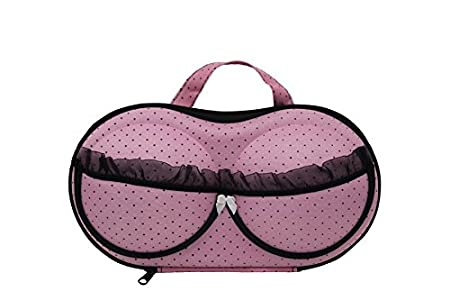 Westeng Portable Bra Storage Case Bra Underwear Lingerie Case Travel  Organizer Bag