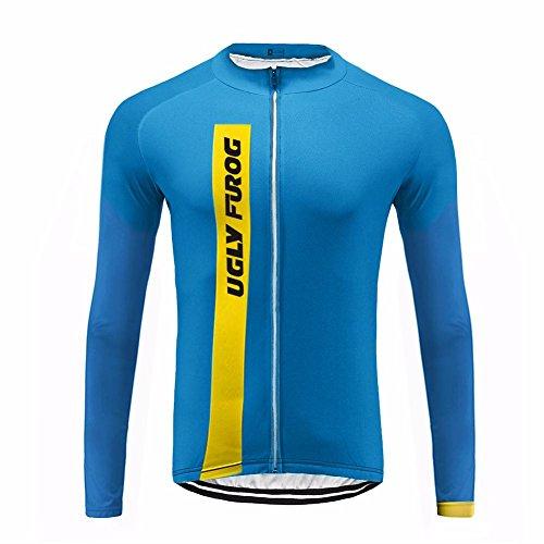 Uglyfrog 2017 UG6 New Classical Thermal Fleece Winter Long Sleeve Cycling Jersey Mountain Triathlon - Clothing Sydney Triathlon