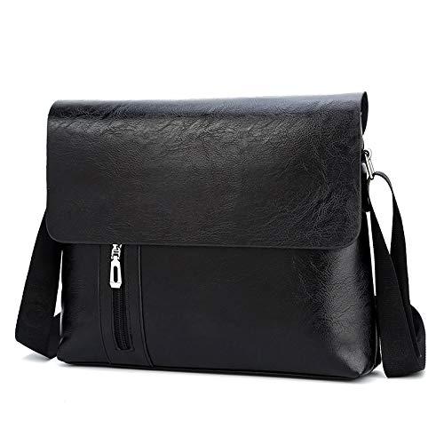 Borsa Package Fashion tracolla colore per Nero Briefcase uomo Flysxp a ottone rrw6qAT