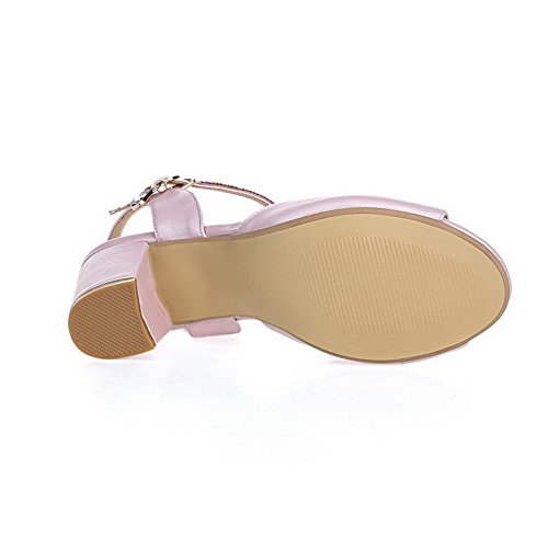 7 Fashion Sandals 5 M US 1TO9 Girls Material Soft B Solid Pink Una0AaqH