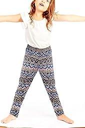 Crush Girls Printed Sweatpants Joggers Size 14 - 16 Royal Blue