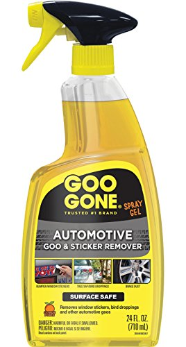 - Goo Gone Automotive - Cleans Auto Interiors, Auto Bodies and Rims, Removes Bugs, Stickers, Paint and More - 24 Fl. Oz.