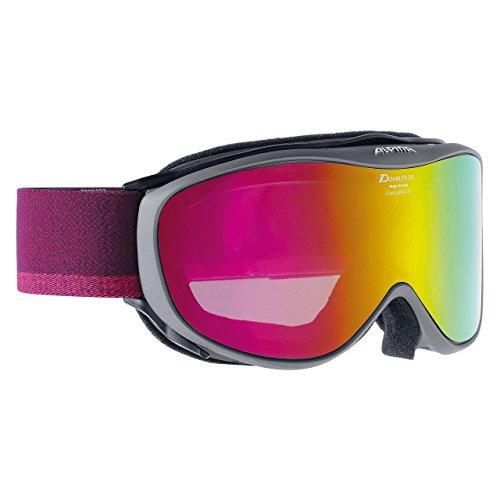 ALPINA Challenge 2.0 mm Skibrille, Anthracite, One Size