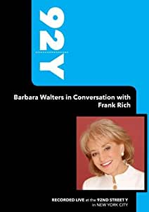 92Y- Barbara Walters in Conversation with Frank Rich (June 17, 2008)