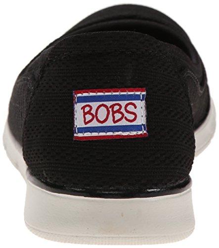 Bobs De Skechers Pureflex Supastar Flat Negro - negro