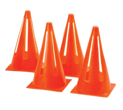 Mitre 9-Inch Safety Cones- Orange by mitre