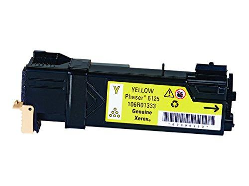 Xerox Yellow Toner Cartridge, 1000 Yield (106R01333) by Xerox