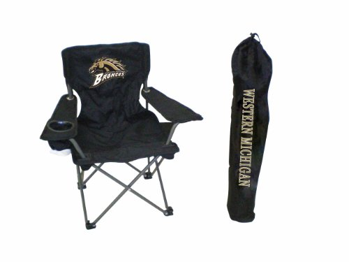 Michigan Broncos Youth Folding Chair With Carrying Case (Outdoor Western Chair)