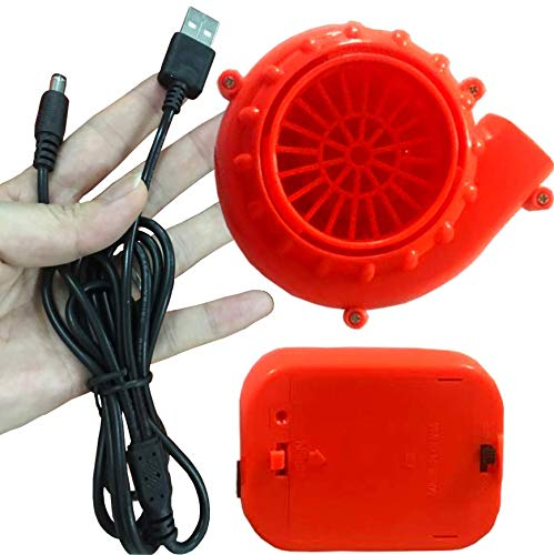 Mini Fan Blower for Inflatable Costumes NEW Power Bank USB Connection Alison McKenny
