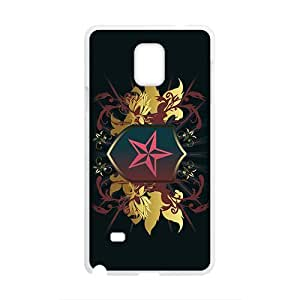Black Star Badge Custom Protective Hard Phone Cae For Samsung Galaxy Note4