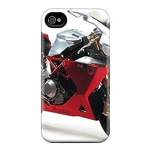 New Tpu Hard Case Premium Iphone 4/4s Skin Case Cover(bimota Db5 2006)