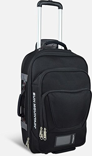 SUN MOUNTAIN TRAVEL EDITION CARRY-ON SUITCASE/LUGGAGE - BLACK - NEW 2016