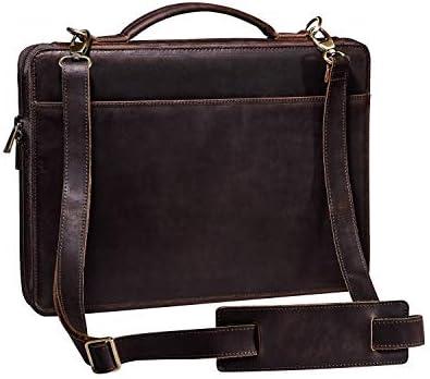 Handmade Business Portfolio Briefcase Organizer