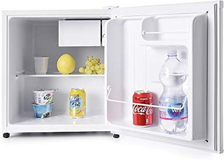 Mini-frigorífico con congelador de 5 litros. Grande espacio interior ( 47 litros ),Bajo consumo Clas