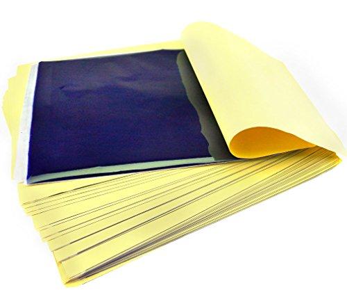 50×Tattoo Thermal Carbon Pauspapier Transferpapier Für Tracing Art Supply A4