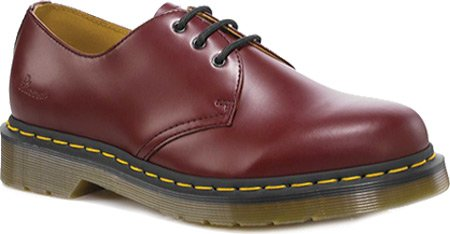 Dr. Martens 1461 PW Mixte - Rouge - Rosso (Cherry Red), 45 EU EU