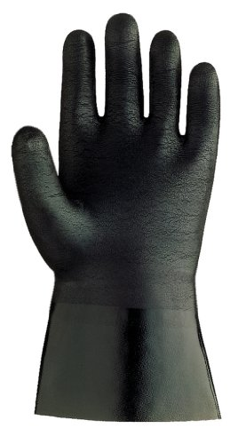 SHOWA 6797R  Neoprene Coated Glove, Cotton Liner, Chemical Resistant, Large (Pack of 12 Pairs) by SHOWA (Image #1)