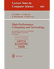 High-Performance Computing and Networking: International Conference and Exhibition, Brussels, Belgium, April 1996. Proceedings.