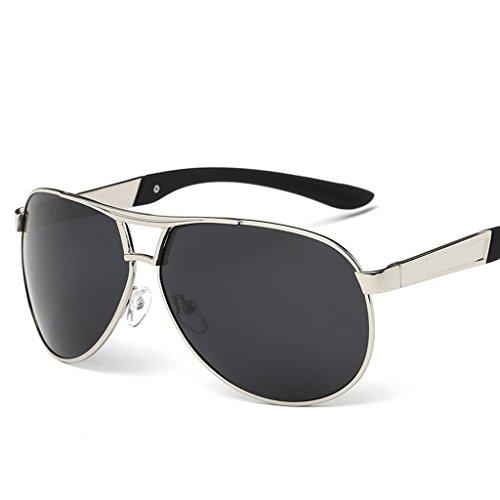 Rana C Sol Gafas Espejo Hipster Sol Hombre de Polarizador Coating E Gafas Driver Espejo Conducción Gafas Espejo Color Sol de de Cool de v81CxSw14q